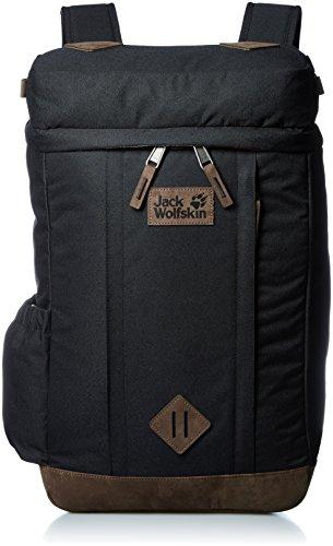 Jack Wolfskin Mädchen Leicester Square Alltag Daypack Rucksack, Black, 50x39x3 cm