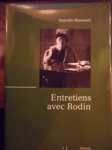Entretiens avec Rodin par Henri-Charles-Etienne Dujardin-Beaumetz