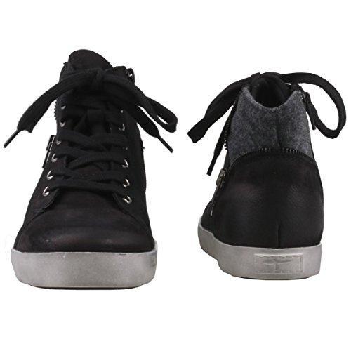 Tamaris Damen 25283 Hohe Sneaker Schwarz (Black)