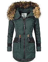 Khujo Mujer Abrigo de invierno parka de invierno ym-retro BUGS 4 colores S-