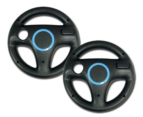 Price comparison product image Wii Wheel, Bigaint Kart Racing Wheels, Wii Wheel for Racing Games-Black