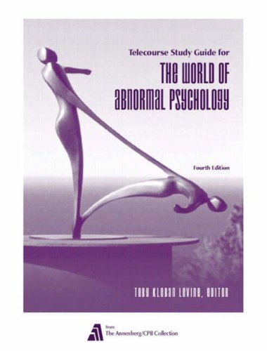 abnormal-psychology-telecourse-study-guide