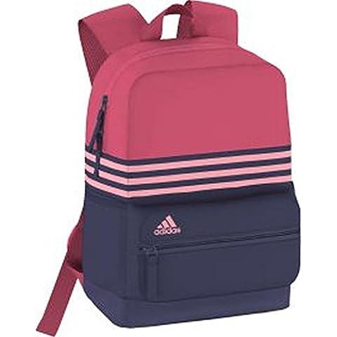 adidas ASBP 3S - Mochila para niño, color azul / rosa / fucsia, talla XS