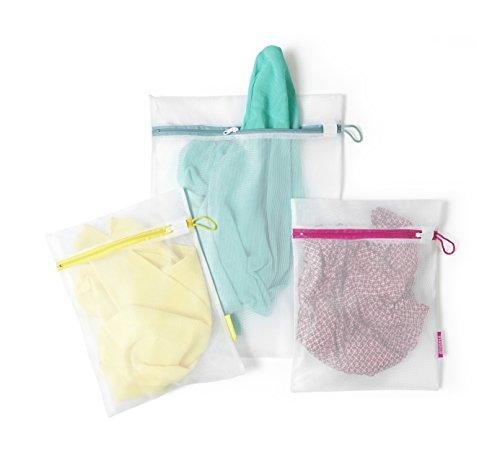 $ Brabantia Sacche per Lavare i Delicati, Tessuto, Bianco, Set da 3 Pezzi lista dei prezzi
