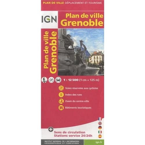 72516 PLAN DE GRENOBLE 1/12.500