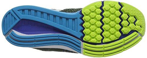 Nike Air Zoom Structure 19, Chaussures de Running Homme, 9 EU Multicolore - Negro / Plata / Lima / Azul (Black/Pure Platinum-Vlt-Bl Lgn)