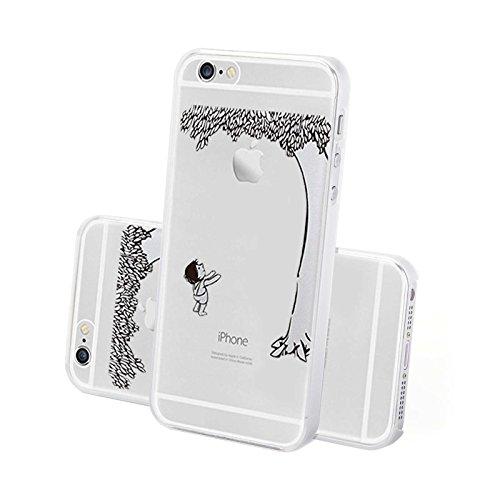 4-punkt-dual-link (FINOO ® | Iphone 5 / 5S Hardcase Handy-Hülle | Transparente Hart-Back Cover Schale mit Motiv Muster | Tasche Case mit Ultra Slim Rundum-schutz | stoßfestes dünnes Bumper Etui | Apfel fällt)