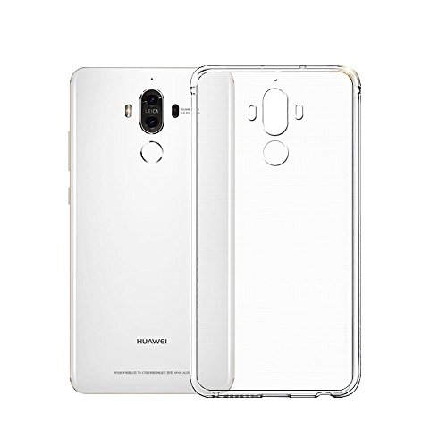 Minto Ultradünn TPU Hülle iPhone 8 Plus / iPhone 7 Plus Silikon Schutzhülle Handyhülle Case Crystal Cover Durchsichtig transparent 0.6mm Mate 9