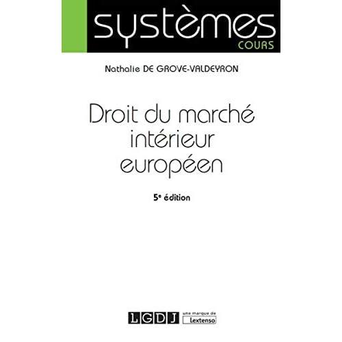 Droit du marché intérieur européen