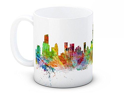 Chicago Skyline, USA États-Unis Paysage urbain – de haute qualité tasse à thé café