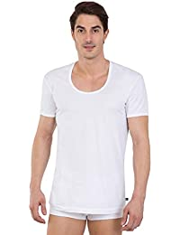 Jockey Men's Cotton Undershirt (Pack of 2) (Modern Classic)