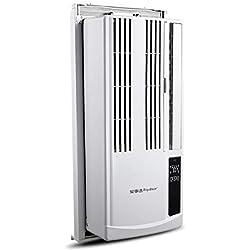 Window air conditioner Climatiseur De FenêTre, Climatiseur Mural, Amovible, avec TéLéCommande Infrarouge, Approprié pour Chambre à Coucher, HôTel, Bureau D'Appartement
