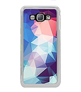 FUSON Abstract Design Background Triangles Designer Back Case Cover for Samsung Galaxy J1 (6) 2016 :: Samsung Galaxy J1 2016 Duos :: Samsung Galaxy J1 2016 J120F :: Samsung Galaxy Express 3 J120A :: Samsung Galaxy J1 2016 J120H J120M J120M J120T