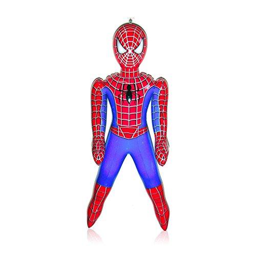 Spiderman-Personaggio gonfiabile da 60cm di altezza circa