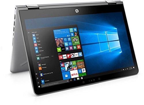 HP Pavilion x360 11-AD022TU 2017 11-inch Laptop (7th Gen Core i3-7100U/4GB/1TB/Windows 10 Home/Integrated Graphics), Natural Silver 41v7hrwgNpL