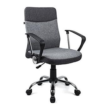 Schreibtischstuhl  Homekraft DAVIK Bürostuhl Drehstuhl Chefsessel Bürosessel ...