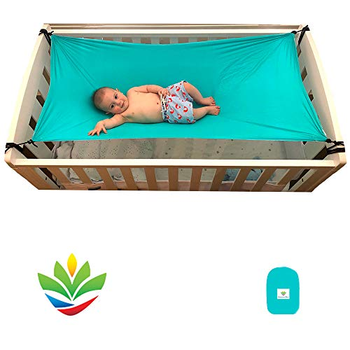 Hammock Bliss - Sky Baby 2 - Hammock Swing/Sleeping Platform - The Ideal Solution for Putting Baby to Sleep - Fits Perfectly In Your Crib or Travel Cot - Floating Bed Helps Get Baby Ready to Nap