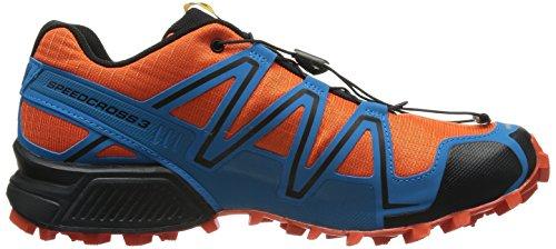 Salomon Speedcross 3 127609, Herren Sportschuhe - Running Orange