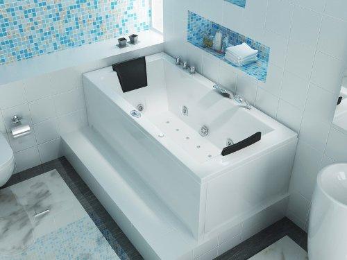 Luxus Whirlpool Badewanne 182x90 im Vollausstattung (Massage) - Sonderaktion - 4