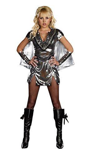 3-pices-dames-xena-guerrier-desse-romaine-costume-robe-argent-avec-cap-et-manchettes-taille-38-40