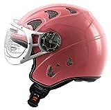 ATO Rollerhelm Jet Helm in Pink Rosa ECE 2205 Größe: (S 55/56cm)