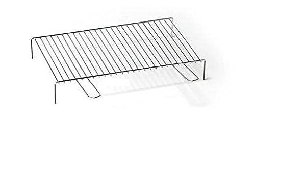 Aluminium 40/x 35/cm Grillrost f/ür Kamin OMPAGRILL 00640