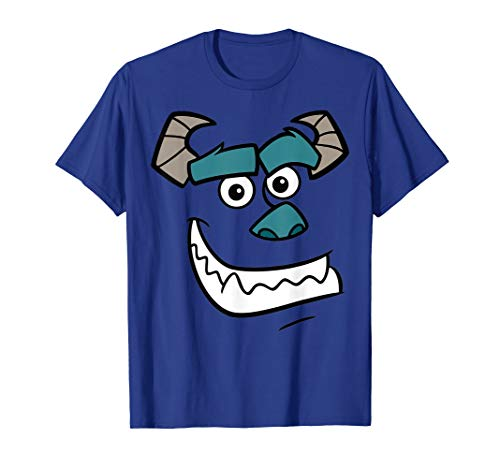 Disney Monsters Inc. Sulley Face Graphic T-Shirt - Tshirt Inc Sulley Monsters