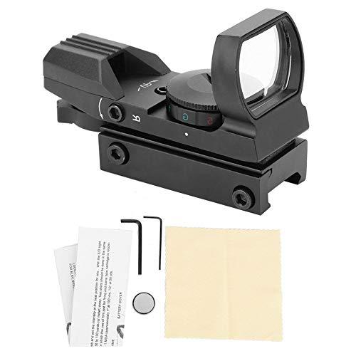 Red Dot Sight 11mm/20mm Rotpunktvisier Airsoft Reflexvisier,Tactical Reflex Rot / Grün Dot Zielfernrohr Jagdoptik Zielfernrohr Reflex Zielfernrohr Taktische Zielfernrohr Anblick Optik für die Jagd