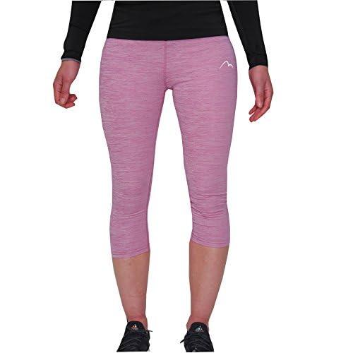 41v7lgT6i3L. SS500  - More Mile Heather Womens Capri Sports Tights 3/4 Leggings Exercise Running Training Yoga