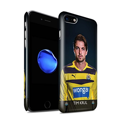 Officiel Newcastle United FC Coque / Clipser Brillant Etui pour Apple iPhone 7 / Elliot Design / NUFC Joueur Football 15/16 Collection Krul