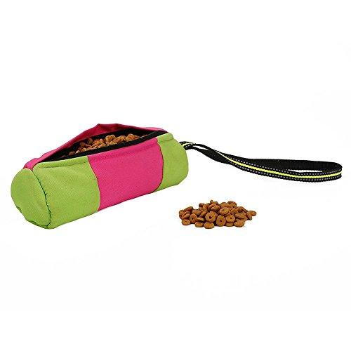 Futtertasche für Hunde, Rolls Hund Gürteltasche Pet Dog Training Gürteltasche Reinigen Müllsack, Ideal Apportier-Spielzeug