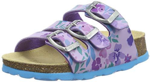 Superfit Mädchen Fussbettpantoffel' Pantoffeln, Violett (Lila 90), 29 EU