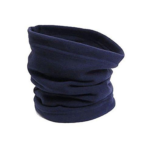 Osmanthusfrag, scaldacollo invernale per il viso, sciarpa termica, berretto, per lo sport, regalo unisex, blu navy