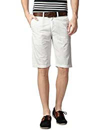 Peter England Men's Cotton Shorts