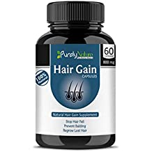 Generic 100% Natural Care Extract Capsules for Hair Problems - Pack of 60 (800 Mg)