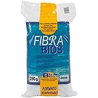 Blu Bios Fibra Bios Bianca 250 gr - Lana filtro per acquario, terrario o acquaterrario