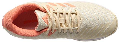 Adidas Barricade Court, Scarpe De Tennis Donna Multicolore (ecru Teinte / Craie Corail / Chaussures Blanc 0)