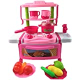 Dream Kitchen - Funny Tableware, Little Chef Kids Cookware Play Set With Light & Sound