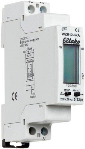 Preisvergleich Produktbild Eltako WZR12-32A Wechselstromzähler mit Reset ohne Zulassung