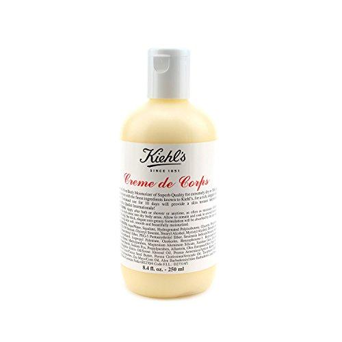 Kiehl's Creme de Corps Körper-Feuchtigkeitscreme - Flasche, Mittlere Größe 8.4oz (250ml) (La De Creme Corps)