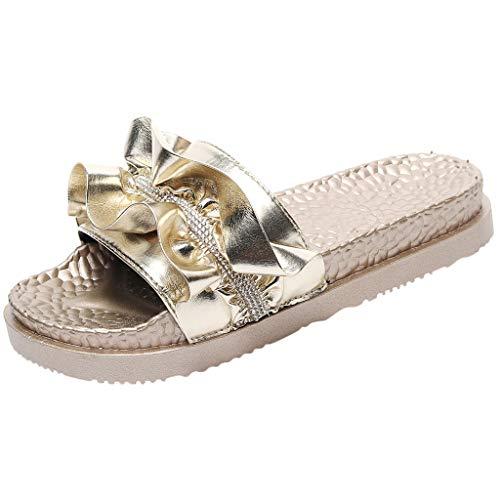 HALILUYA Zapatillas Mujer Moda Dama Casual Sandalias