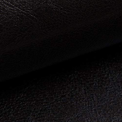 Glänzende Kunstleder (NOVELY® MARGOTH - Glattes glänzendes Kunstleder im Antik-Look (25 Dunkel Braun))