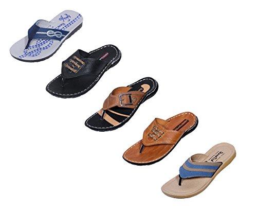 Indistar-Men-Flip-Flop-House-Slipper-And-Sandal-MultiColor
