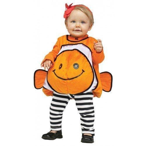 Mädchen Jungen Baby Findet Nemo Clownfisch Halloween Kostüm Outfit, 12-24 Monate (Nemo Kostüme)