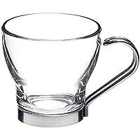 HomeTake – Juego de 6 Tazas ML de café, DE Cristal Taza tisana para Café