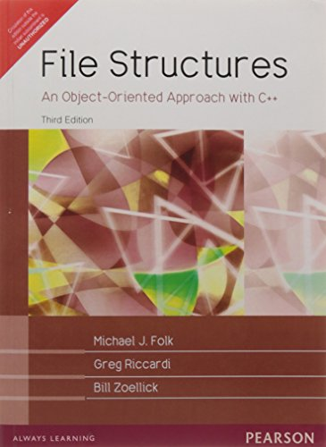 File Structures: An Object-Oriented Approach with C++, 3e