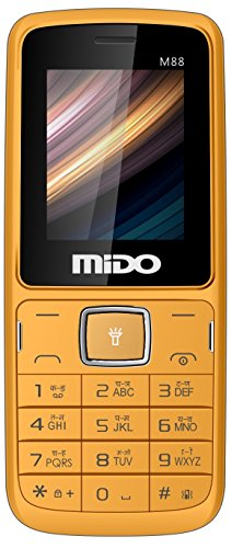 Mido M88 Dual Sim Feature Phone (orange-black)