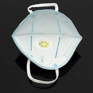 Unisex Adult PM 2.5 Anti Pollen | Dust | Air Pollution | Virus | Hay Fever | Garden Weeding Nose Protect|Anti-fog | Face Mouth Warm Mask | Antibacterial | Earloop Mouth Mask Face Mask-pack of 1pcs (White)
