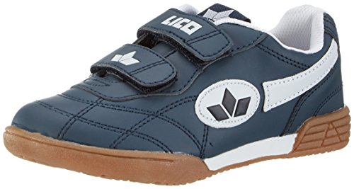 Lico  Bernie V,  Scarpe sportive indoor Unisex - Bambino, Blu (Marine/weiss), 39 EU