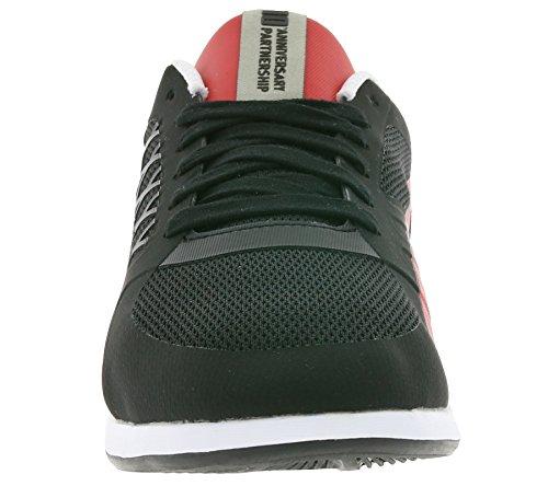Puma Unisex-Erwachsene Valorosso 2 Sf-10-Black-Rosso Corsa Sneaker Schwarz